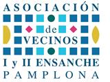 Vecinos del ensanche de Pamplona